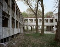Заброшенная советская военная база в Крживе, Польш