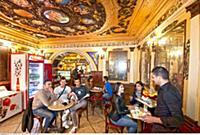 ITALY / Sardinia / ( Zentrum ) / Nuoro / Caffe Tet