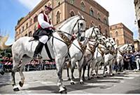 ITALY / Sardinia / ( Sueden ) / Cagliari / festiva
