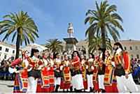ITALY / Sardinia / Nurra ( Westen ) / Sassari / Pi