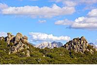 ITALY / Sardinia / Supramonte ( Zentrum ) / view f