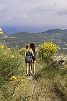 Italy / Pontine Islands / Ponza / 2015 / Trekking