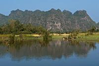MYANMAR / Kayin State / Hpa-an / The capital of Ka