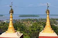 MYANMAR / Mon State / Mawlamyaing / View from the
