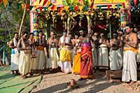 MYANMAR / Mon State / Mawlamyaing / Tamils celebra
