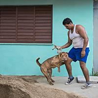 Cuba / Havana / June 2014 / About Time / A man and