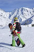 France / Haute-Savoie / Mont Blanc / March 2015 /