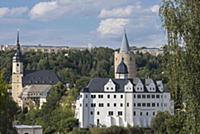 GERMANY / Saxony / Ore Mountains / Zschopau / Town
