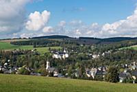 GERMANY / Saxony / Ore Mountains / Neuhausen / Vie