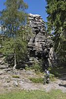 GERMANY / Saxony / Ore Mountains / The Greifenstei