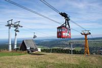 GERMANY / Saxony / Ore Mountains / Oberwiesenthal