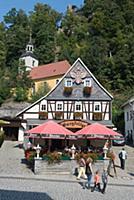 GERMANY / Saxony / Upper Lusatia / Oybin / Mountai