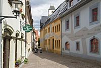 GERMANY / Saxony / Freiberg / Houses in the old to
