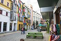 GERMANY / Saxony / Zwickau / Colourful designed ho