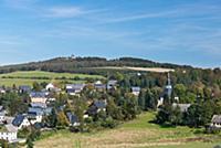 GERMANY / Saxony / Ore Mountains / Seiffen / View