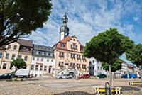 GERMANY / Saxony / Waldenburg / The city hall was
