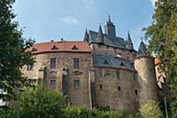 GERMANY / Saxony / Kriebstein / The medieval Krieb