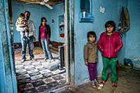 Turkey / Urfa / Syrian Refugee / 2014 / This famil
