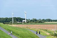 GERMANY / Lower Saxony / Imsum / Weser Cycle Route