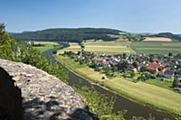GERMANY / Lower Saxony / Doelme / The Weser River