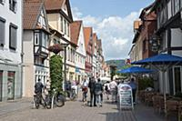 GERMANY / Lower Saxony / Rinteln / The pedestrian
