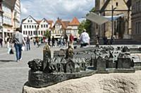GERMANY / Lower Saxony / Hamelin / City model for