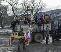 REPUBLIC OF MOLDOVA / Calarasi / Hirjauca / Januar