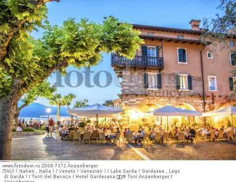 ITALY ( Italien , Italia ) / Veneto ( Venezien ) / Lake Garda ( Gardasee , Lago di Garda ) / Torri del Benaco / Hotel Gardesana   © Toni Anzenberger / Anzenberger