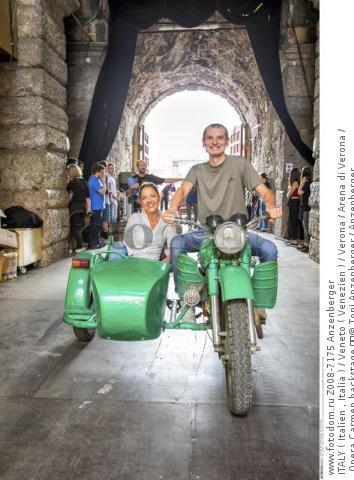 ITALY ( Italien , Italia ) / Veneto ( Venezien ) / Verona / Arena di Verona / Opera Carmen backstage   © Toni Anzenberger / Anzenberger