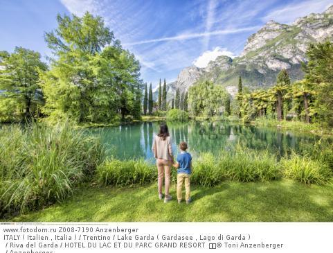 ITALY ( Italien , Italia ) / Trentino / Lake Garda ( Gardasee , Lago di Garda ) / Riva del Garda / HOTEL DU LAC ET DU PARC GRAND RESORT    © Toni Anzenberger / Anzenberger
