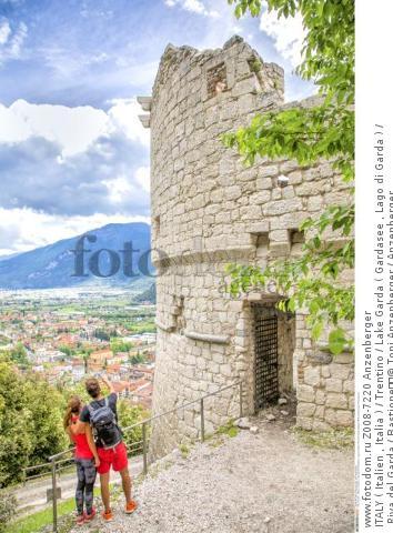 ITALY ( Italien , Italia ) / Trentino / Lake Garda ( Gardasee , Lago di Garda ) / Riva del Garda / Bastione  © Toni Anzenberger / Anzenberger