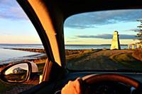 Near Caraquet at Gulf of St. Lawrence, New Brunswi