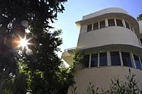 Bauhaus style, Braun House, Ahad Ha'am Street, Tel