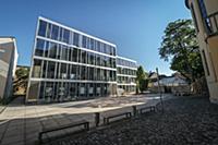 UNESCO World Heritage Bauhaus school, modern build