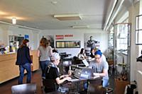 Cafe in the main college building, Bauhaus, Dessau
