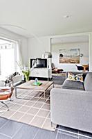 Living room, Bauhaus residential house, Hamburg, G