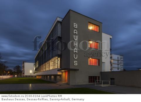 Bauhaus Dessau, Dessau-RoЯlau, Saxony-Anhalt, Germany  Для коммерческого использования может требоваться очистка прав. Необходимо уточнение.