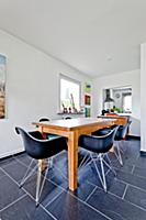 Dining room, Bauhaus residential house, Hamburg, G