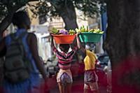 Cape Verde, Island Sao Vincente, Mindelo, market,
