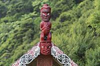 Maori Art, Wainui, Tasman, South Island, New Zeala