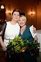 Ирина Эльдарханова и Ирина Грибулина на празднован