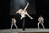 Шоу-балет «Розаликс» на вручении премии Российской