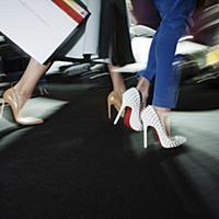 Закулисные съемки с Mercedes-Benz Fashion Week Russia в Москве