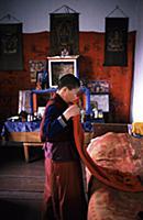 Буддистский монастырь в Бурятии