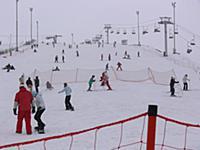 Зимние пейзажи Подмосковья. Горнолыжный курорт 'Сорочаны'
