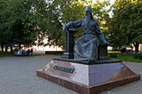 Полоцк. Памятник Симеону Полцкому.