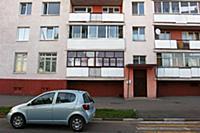 Полоцк. Жилые кварталы города.