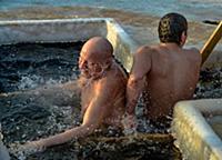 Крещение в Останкино. Россия, Москва. 19 января 20