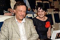 Михаил Барщевский с супругой. Юбилей Максима Дунае