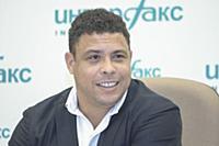 Пресс-конференция Роналдо в Москве
